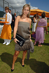 Singer LOUISE REDNAPP at the final of the Veuve Clicquot Gold Cup 2007 at Cowdray Park, West Sussex on 22nd July 2007.<br /><br />NON EXCLUSIVE - WORLD RIGHTS