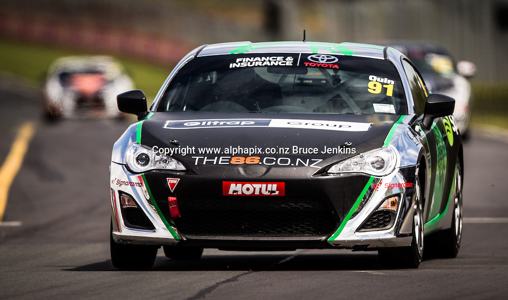 Practice day for the Toyota Finance 86 series, Pukekohe, New Zealand, 28 November 2014. Photo by John Cowpland / alphapix Round 2 of the Toyota Finance 86 Series at Pukekohe 2014. Photo by Bruce Jenkins/ www.brucejenkins.co.nz