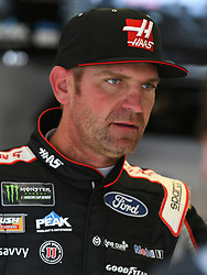 February 23, 2019 - Hampton, GA, U.S. - HAMPTON, GA - FEBRUARY 23: Clint Bowyer, Stewart-Haas Racing, Ford Mustang Haas Automation (14) during practice for the Monster Energy Cup Series QuikTrip Folds of Honor 500 on February 23, 2019, at Atlanta Motor Speedway in Hampton, GA.(Photo by Jeffrey Vest/Icon Sportswire) (Credit Image: © Jeffrey Vest/Icon SMI via ZUMA Press)