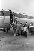 The Irish Bridge Team depart for the World Bridge Olympiad at Deauville, France.<br /> 05.06.1968