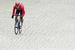 September 22, 2017 - Bergen, NORWAY - 170922 Rasmus Fossum Tiller of Norway competes during the Men Under 23 Road Race on September 22, 2017 in Bergen..Photo: Vegard Wivestad GrÂ¿tt / BILDBYRN / kod VG / 170024 (Credit Image: © Vegard Wivestad Gr¯Tt/Bildbyran via ZUMA Wire)