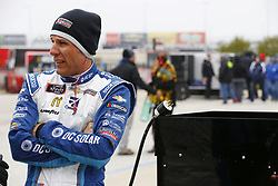 April 7, 2018 - Ft. Worth, Texas, United States of America - April 07, 2018 - Ft. Worth, Texas, USA: Jamie McMurray (42) hangs out on pit road before qualifying for the My Bariatric Solutions 300 at Texas Motor Speedway in Ft. Worth, Texas. (Credit Image: © Chris Owens Asp Inc/ASP via ZUMA Wire)