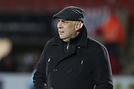 Garry Hill during the The FA Cup 1st round replay match between Cheltenham Town and Ebbsfleet at LCI Rail Stadium, Cheltenham, England on 20 November 2018.