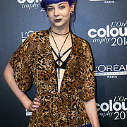 London,England,UK : 13th June 2016 : Zoe london is a blogger attend and the L'Oréal Colour Trophy Awards 2016 at The O2 Intercontinental Hotel, Greenwich Peninsula, London. Photo by See Li