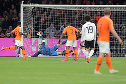 March 24, 2019 - Amsterdam, France - AMSTERDAM, Football, 24-03-2019, Euro qualification, Stadium Johan Cruyffarena, 2-2 of Netherlands during the game Netherlands - Germany. (Credit Image: © Panoramic via ZUMA Press)