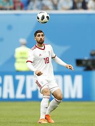 Alireza Jahanbakhsh of IR Iran