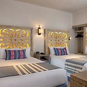 Pueblo Bonito Mazatlan. Room 517 Luxury Suite Ocean View Double. Photo by: Victor Elias Photography.