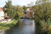 Czech Republic, South Bohemian Region, Cesky Krumlov, Krumlov Castle