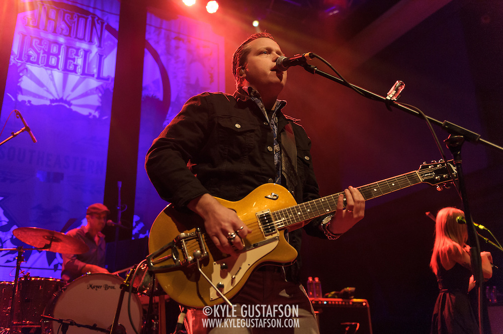 WASHINGTON, D.C. - January 28th, 2014 - Jason Isbell performs at the 9:30 Club in Washington, D.C. A former member of  the Drive-By Truckers, Isbell released his fourth solo album, Southeastern, last year. (Photo by Kyle Gustafson / For The Washington Post)
