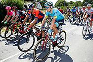 Jakob Fuglsang (DEN - Astana Pro Team) - Vincenzo Nibali (ITA - Bahrain - Merida) during the Tour de France 2018, Stage 4, Team Time Trial, La Baule - Sarzeau (195 km) on July 10th, 2018 - Photo Luca Bettini / BettiniPhoto / ProSportsImages / DPPI