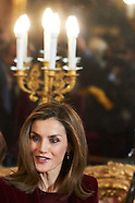 121416 Spanish Royals Attend Meeting of the Board of Directors of the Princess of Girona Foundation