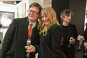 DARREN COFFIELD; GERALDINE SWAYNE, Preview for the London Art Fair,  Islington Business Design Centre. London. 13 January 2014