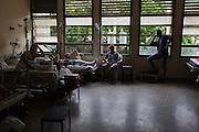 2016/05/29 - Barcelona, Venezuela:A hospital room in Dr. Luis Razetti hospital in Barcelona. (Eduardo Leal)