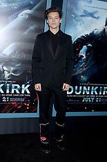 NY: Dunkirk premiere 18 July 2017