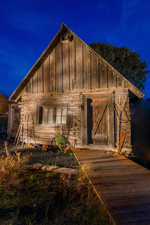 In Kenai, Alaska, a top tourist attraction is the Kenai Historical Cabin Park that houses some of the oldest landmark restored cabins dating back to the late 1800's.