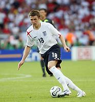 Photo: Chris Ratcliffe.<br /> England v Ecuador. 2nd Round, FIFA World Cup 2006. 25/06/2006.<br /> Michael Carrick of England.