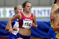 Friidrett<br /> Nordisk Landskamp<br /> Junior<br /> Fana Stadion<br /> 17. August 2008<br /> 3000 m<br /> Runa Skrove Falch , Norge<br /> Foto : Astrid M. Nordhaug