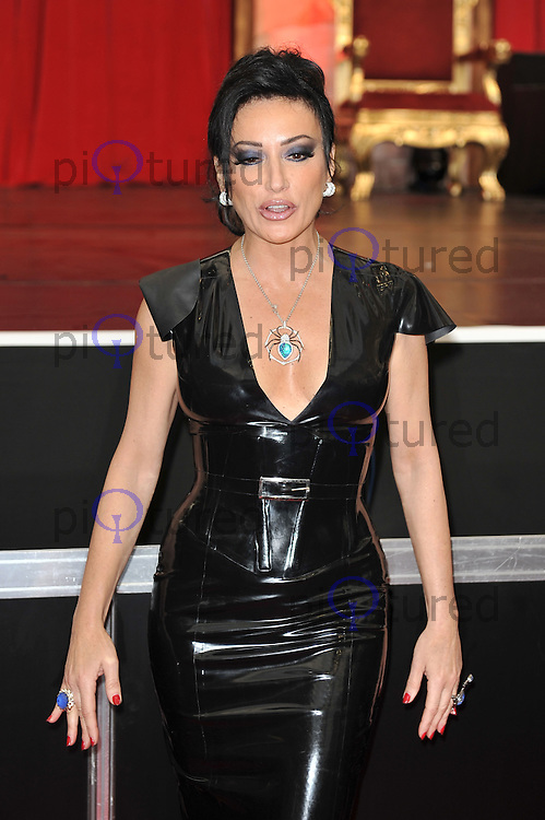 Nancy Dell'olio..Attending Erotica 2011, Olympia Hall, Kensington, London, England. 18 November 2011. Contact: rich@piqtured.com  +44(0)7941 079620 (Picture by Awais Butt)