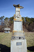 Bezidu Nou, Sangeorgiu de Padure, Romania. First world war memorial
