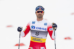 March 9, 2019 - Oslo, NORWAY - 190309 Hans Christer Holund of Norway looks dejected after the men's 50 km classic technique during the FIS Cross-Country World Cup on March 9, 2019 in Oslo..Photo: Fredrik Varfjell / BILDBYRÃ…N / kod FV / 150211. (Credit Image: © Fredrik Varfjell/Bildbyran via ZUMA Press)