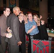 Tiger Woods, Jery & Friends.Atlantis Casino Hotel.Paradise Island, Bahamas.New Year's Eve 2001.Monday January 01,2001.Photo By CelebrityVibe..