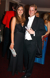 LADY NATASHA RUFUS-ISAACS and ANTHONY BELL at  the Royal Caledonian Ball held at The Grosvenor House Hotel, Park Lane, London on 5th May 2006.<br /><br />NON EXCLUSIVE - WORLD RIGHTS