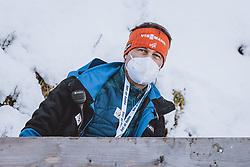 31.12.2020, Olympiaschanze, Garmisch Partenkirchen, GER, FIS Weltcup Skisprung, Vierschanzentournee, Garmisch Partenkirchen, Qualifikation, Herren, im Bild FIS Renndirektor Sandro Pertile // FIS Race Director Sandro Pertile during qualification jump of men's Four Hills Tournament of FIS Ski Jumping World Cup at the Olympiaschanze in Garmisch Partenkirchen, Germany on 2020/12/31. EXPA Pictures © 2020, PhotoCredit: EXPA/ JFK