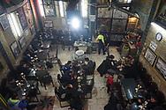Iran tehran. Narguile cafe in The grand bazar, former Zurkaneh place