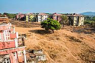 Abandoned Hotel Complex at Agonda, Goa, India