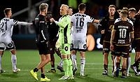 Fotball , 22. august 2020 , Eliteserien , Mjøndalen - Rosenborg<br /> trener Vegard Hansen , MIF og Julian Faye Lund , RBK