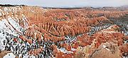 USA, Utah, Bryce Canyon National Park,Bryce Canyon from Bryce Point, Digital Composite, panorama