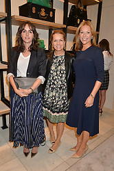TANIA FARES, AMANDA KYME and CELIA DUNSTONEat a lunch hosted by Alice Naylor-Leyland and Tamara Beckwith in celebration of the Coach 2015 collection held at Coach, New Bond Street, London on 18th September 2014.