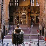 Arabic arch in Mosque-Madrassa of Al-Ghouri, Cairo, Egypt (January 2008)
