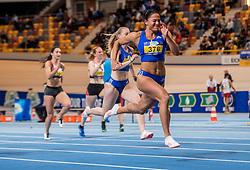 11-02-2017 NED: AA Drink NK Indoor, Apeldoorn<br /> Naomi Sedney 376, Eefje Boons 52 op de 60 meter