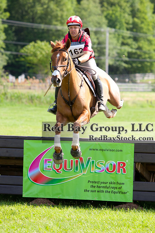 Buck Davidson and Copper Beach at the 2012 Bromont CCI Three Day Event in Bromont, Quebec.