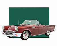 Imaging getting behind the wheel of a vehicle such as this. The Ford Thunderbird is a vehicle with a great deal of history underneath the hood. This is a car that was ideal for people who were serious about going fast. It featured a truly classic exterior design, as well. .<br />