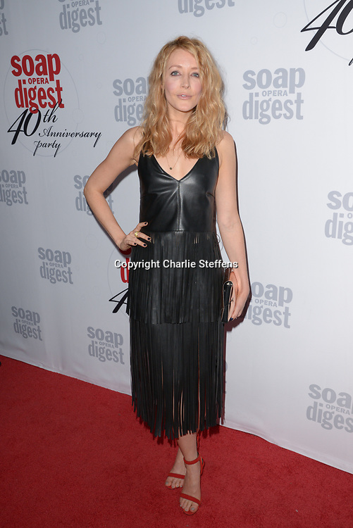 JENNIFER FINNIGAN at Soap Opera Digest's 40th Anniversary party at The Argyle Hollywood in Los Angeles, California