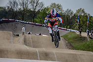 #913 (SVUB Jan) CZE at the 2016 UCI BMX Supercross World Cup in Papendal, The Netherlands.