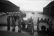 Roger Casement's remains returned to Dublin from London by special plane to Baldonnel Military Airport..24.02.1965