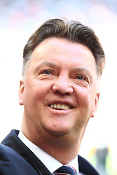 02.04.2011, Allianz Arena, Muenchen, GER, 1.FBL, FC Bayern Muenchen vs Borussia Moenchengladbach , im Bild Louis van Gaal (Trainer Bayern)  , EXPA Pictures © 2011, PhotoCredit: EXPA/ nph/  Straubmeier       ****** out of GER / SWE / CRO  / BEL ******