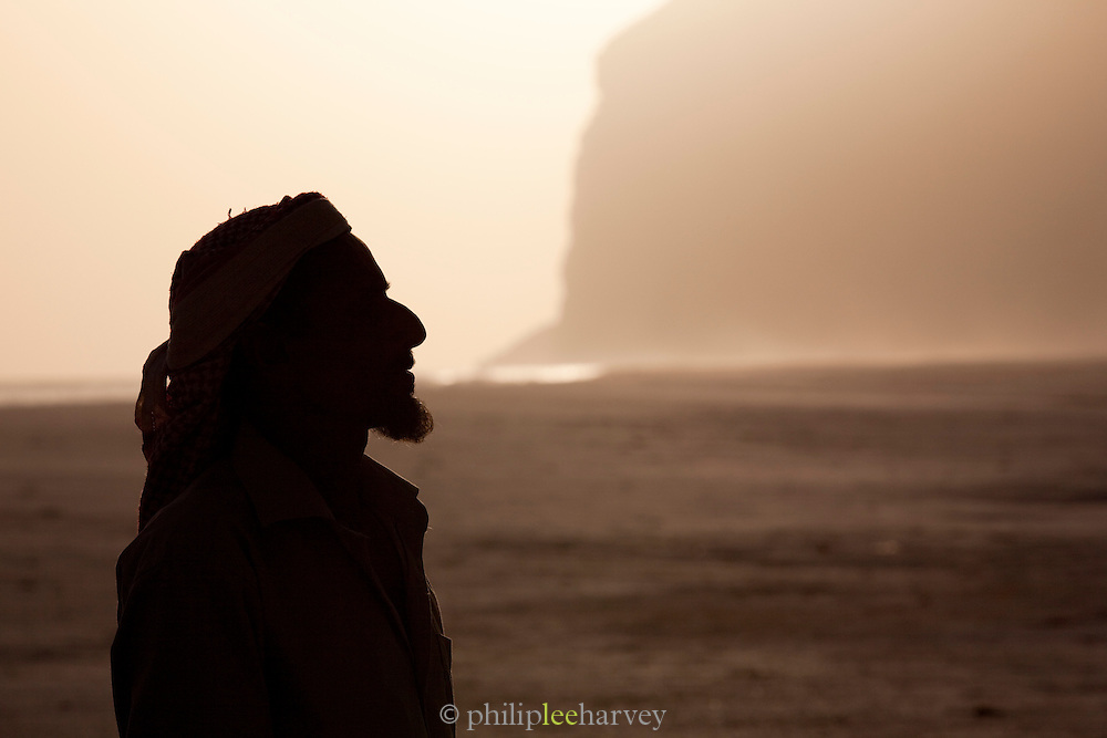 Sheikh Noah, village leader of Dese Brho at Qa'arah, Socotra, Yemen