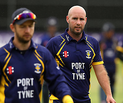 Durham's Chris Rushworth - Mandatory by-line: Robbie Stephenson/JMP - 07966386802 - 04/08/2015 - SPORT - CRICKET - Bristol,England - County Ground - Gloucestershire v Durham - Royal London One-Day Cup