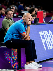 Sasha Aleksandar Djordjevic, head coach of Serbia during basketball match between National Teams of Italy and Serbia at Day 14 in Round of 16 of the FIBA EuroBasket 2017 at Sinan Erdem Dome in Istanbul, Turkey on September 13, 2017. Photo by Vid Ponikvar / Sportida