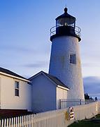 Pemaquid Point Lighthouse, 1827, Pemaquid Point, Maine.