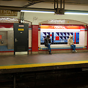 Boston subway Central station (red line)