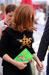 """Pictured:  Hollywood star Isla Fisher attends the Edinburgh International Book Festival 2017 to promote her book """"Marge In Charge""""<br /><br />Alex Todd 