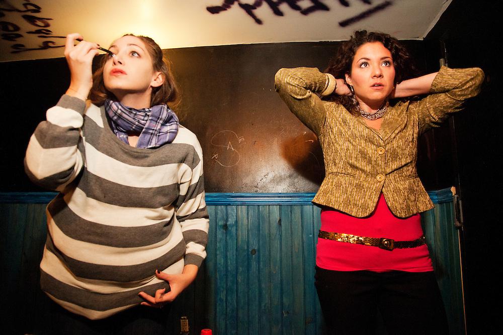 Schtick or Treat - November 1, 2011 - Bowery Poetry Club - Jamie Lee, Mara Herron