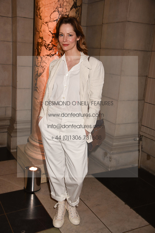 Sienna Guillory at Fashioned From Nature held at The V&A Museum, London, England. 18 April 2018.