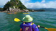 Kayaking, Kaiteriteri Coast, Abel Tasman National Park, South Island, New Zealand