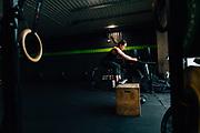 2018 May 14 - Lulu Lemon Ambassador Nissa Ryder working out at her gym, CrossFit Kinesis.
